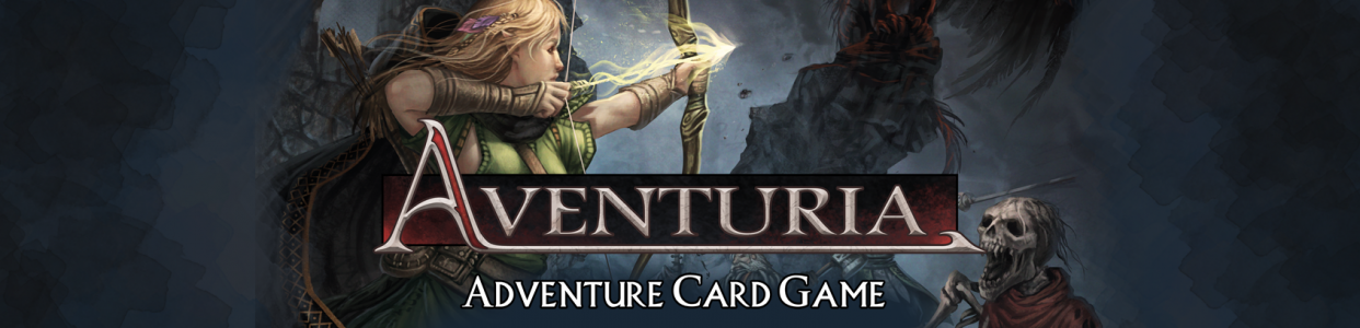 Adventuria Card Game Banner