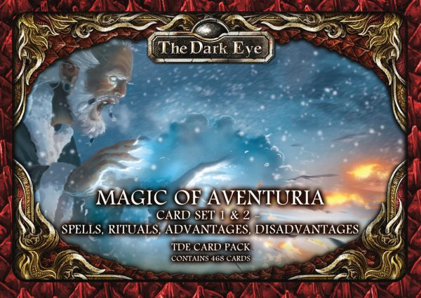 US25520E Magic of Aventuria Cardset